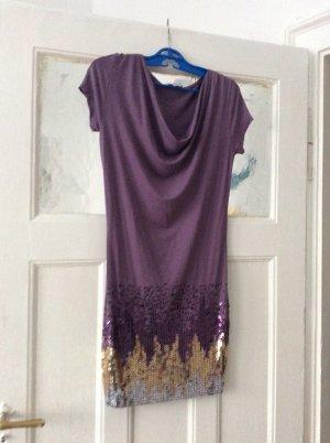 b.p.c. Bonprix Collection Sequin Dress multicolored viscose