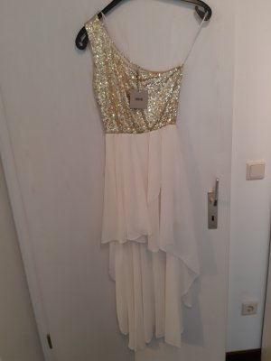 Asos Sequin Dress white-gold-colored