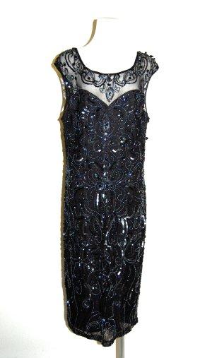Pailettenkleid  Cocktailkleid schwarz von Dynasty Curve Gr.46