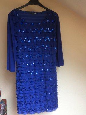 My Own Sequin Dress blue