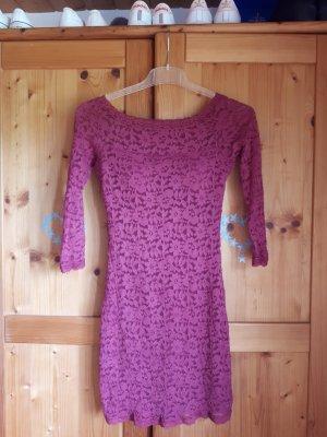 Sequin Dress bordeaux