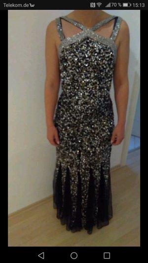 Pailletten Abendkleid Gr. 36