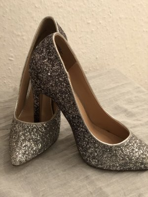 Pailletten besetzte high heels