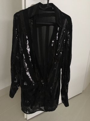Zara Wraparound Blouse black