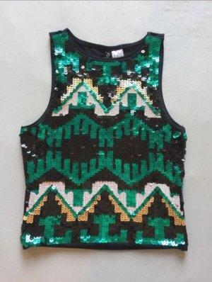 H&M Crop-top multicolore