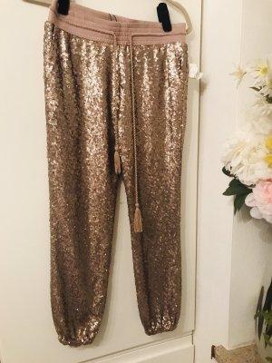 Pantalone bloomers oro