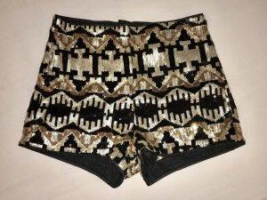 Pailletten Hot Pants