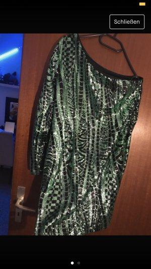 Sequin Dress green-black