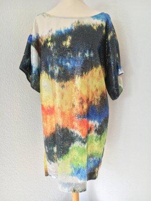 Pailletten-Kleid Streetstyle Blogger rar