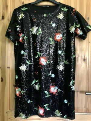 Pailletten Kleid Zara Gr.M