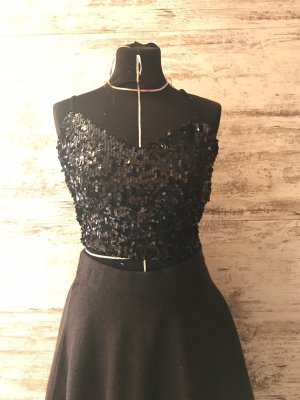 Urban Outfitters Cropped Top black