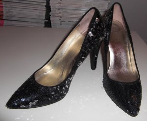 Pailletten Pumps * CATWALK EDITION * NEU!!