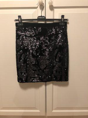 Pailletten Rock aus samt von Inwear - NEU!!!
