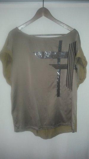 Pailletten Shirt in Satin Optik von Promod