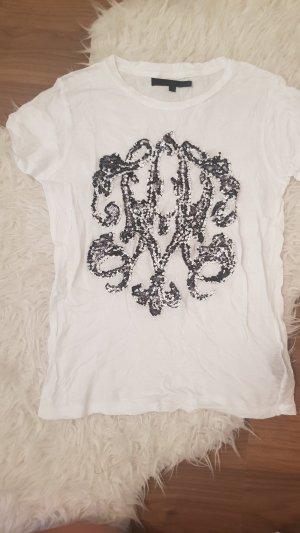 Pailletten T-Shirt -XS-