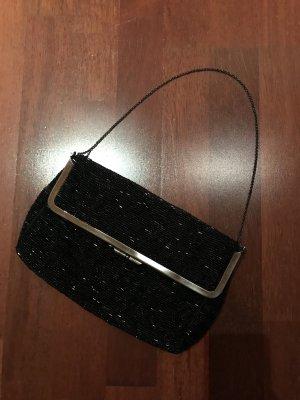 Pailletten Tasche schwarz