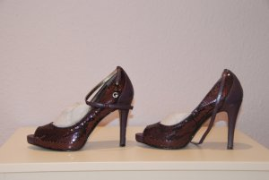 PAILLETTEN  UND LACK PEEP TOE VON GUESS BY MARCIANO IN 37 FARBE LILA