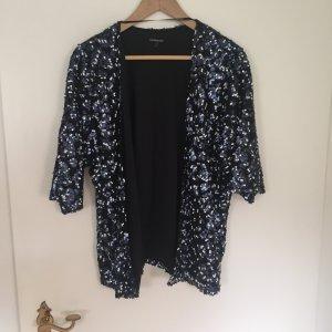 Paillettenjacke im Kimonostil