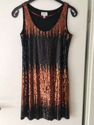 Esprit Sequin Dress brown-black