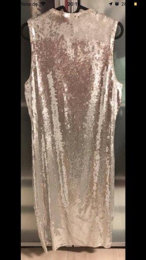 Zara Midi-jurk zilver