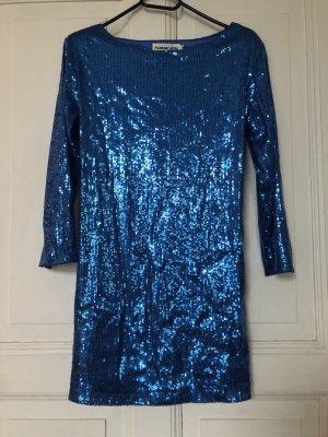 Paillettenkleid Größe M flamant Rose Glitzer Kleid