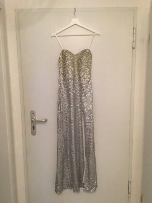 Paillettenkleid in Silber