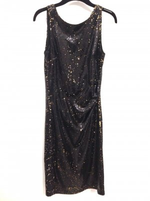 Zara Sequin Dress multicolored polyester