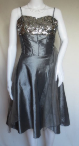 Paillettenkleid Partydress Sommerkleid Cocktailkleid Abendkleid