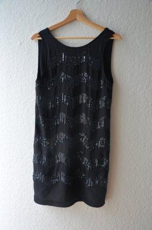 Paillettenkleid Partykleid / Abendkleid, schwarz