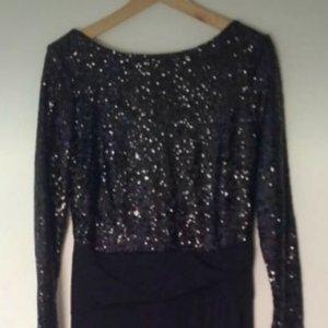 PaillettenKleid - schwarz