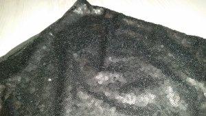 Paillettenshorts in Schwarz in Größe 46 (eher 42)
