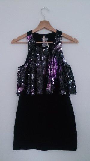Paillettentop / Party Mini Kleid