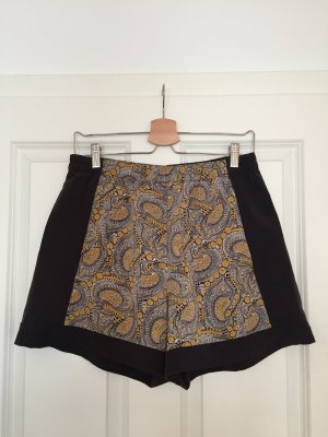 H&M High-Waist-Shorts multicolored polyester