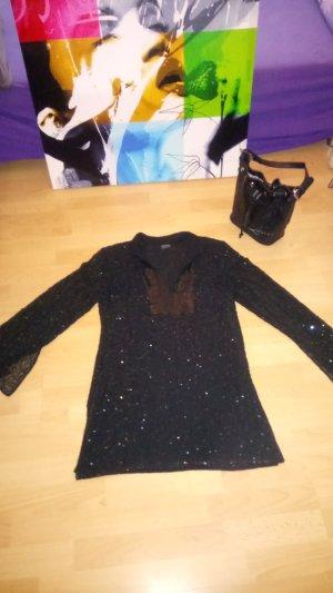 Pajetten Oberteil  /Mini Kleid Gr M