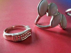 Paket 5 Ringe Silber