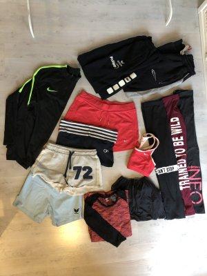 Paket Sportsachen Nike Gilly Hicks Adidas Erima 13 Teile