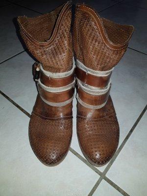 Pakros Botas deslizantes marrón