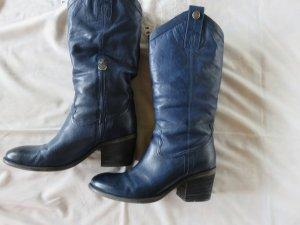Pakros Stiefel in Royalblau / Neupreis 229 EUR !! LETZTE REDUZIERUNG !!!