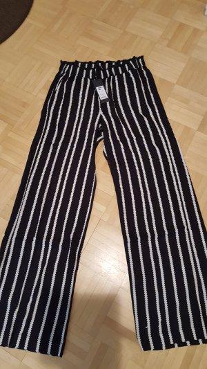 Eksept Pantalon blanc-noir