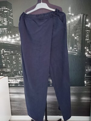 Esprit Pantalon palazzo bleu foncé