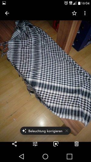 Bufanda blanco-negro
