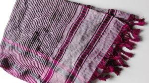 Palituch Palästinenser-Tuch Original magenta pink schwarz