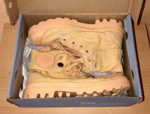 Palladium Desert Boots gold orange