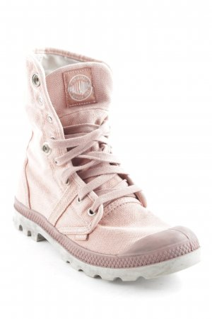 Palladium Halbstiefel rosa-hellgrau Street-Fashion-Look