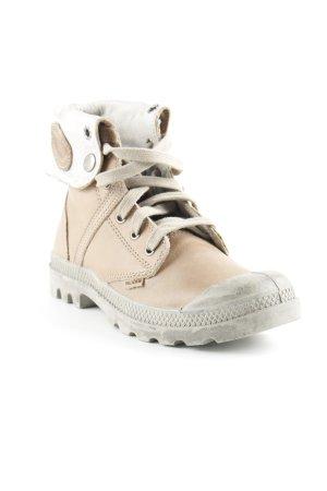 Palladium Korte laarzen beige-lichtgrijs boyfriend stijl