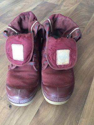 Palladium Desert Boots bordeaux