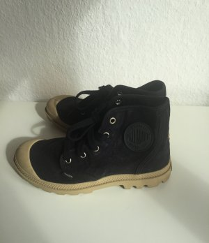 Palladium Pampa Hi Desert Boots High Sneaker Black Denim