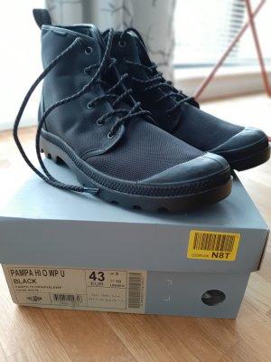 Palladium Ankle Boots black textile fiber