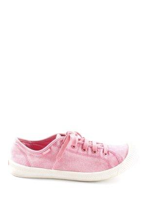 Palladium Schnürsneaker pink-hellbeige Casual-Look