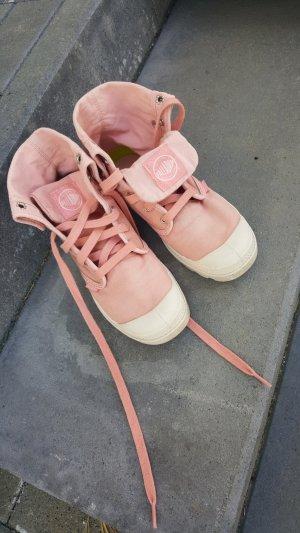 Palladium Sneaker alta albicocca-rosa